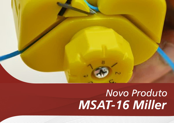 Novo Produto MSAT-16 Miller